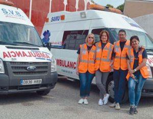 El equipo sanitario de los encierros de San Adrián sólo ha realizado dos atenciones, ambas por contusiones.
