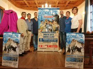 Un momento de la presentación esta tarde de la Feria de Corella.