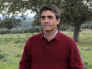 El ganadero Victorinio Martín García.