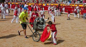 Los más pequeños volverán a disfrutar del toreo en el ruedo pamplonés de la mano de Roca Rey.