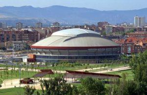 La plaza de toros de Logroño, destino del viaje promovido por el Club Taurino Estellés.