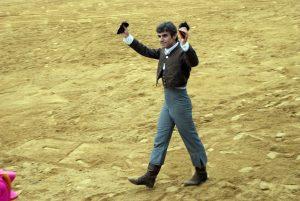 Javier Marín volvió a convencer, esta vez en Cascante. Fotografía: Rafael Villafranca.
