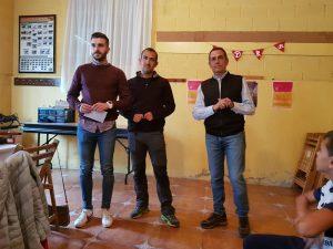 Entrega del premio de fotografía, promovido por el Club Taurino Casta Brava.