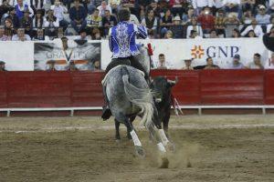 Pablo Hermoso de Mendoza toreó por primera vez con 'Gallo II'.