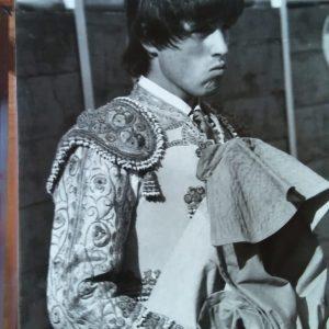 Miguelito Lainez, en su etapa de novillero, durante la década de los años 80.