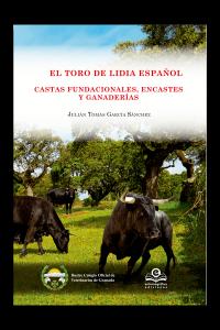 Portada del libro sobre encastes que se presenta esta tarde en el Club Taurino de Pamplona.