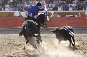 Guillermo Hermoso hizo debutar en 'Jalos' a 'Judío', caballo que cumplió sobradamente.