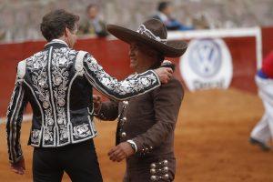 Pablo Hermoso de Mendoza sumó una oreja más en Zacatecas.