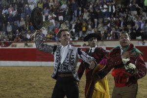 Vuelta al ruedo de Pablo Hermoso de Mendoza en Montijo.