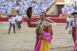 Antonio Ferrera volverá a hacer el paseíllo este viernes en Pamplona. Fotografía: Javier Arroyo.