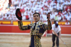 Javier Castaño ha cortado la primera oreja de esta Feria del Toro.