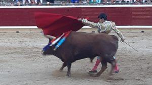 6. Juanito. Pase de pecho