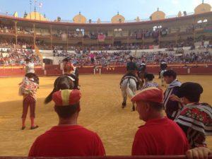 El paseíllo en Almería de esta tarde.