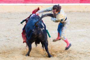 Javier Marín ha estado contundente en la suerte suprema.