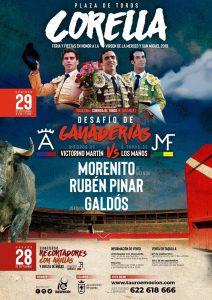 Cartel anunciador de la Feria de San Miguel de Corella.