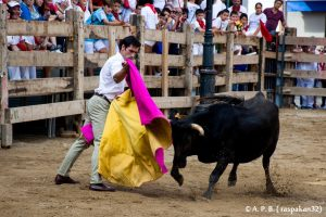 Fiestas de Ablitas. Javier Antón de capa3. 16-IX-2019