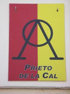 Hierro y divisa de Tomás Prieto de la Cal.