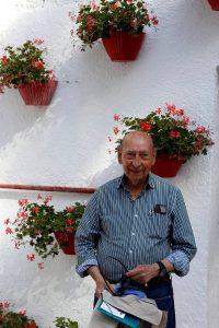 Pepe Herráiz, en el patio de caballos de la plaza de toros de Pamplona. Fotografía: Eduardo Buxens.