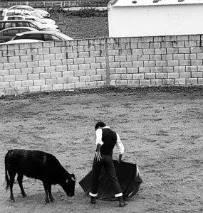 Serranito causó muy buena impresión en El Ontanal de Lodosa.