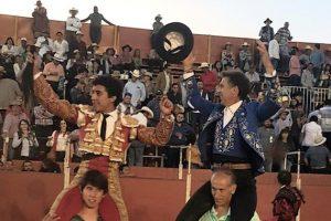 Valadez y el caballero navarro firmaron un triunfo grande en La Barca, estado de Jalisco.