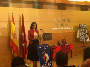 Intervención presidenta de Madrid