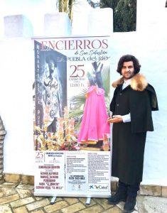 Morante de la Puebla, durante la presentación de los carteles de la Feria de La Puebla del Río.
