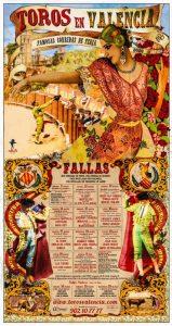 Cartel anunciador de la Feria de Fallas de 2020.