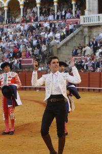 Guillermo Hemroso de Mendoza aforntará su segunda actuación en Sevilla, tras la de su alternativa el año pasado.