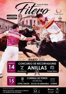 Cartel anunciador de la Feria de San Raimundo de Fitero 2020.
