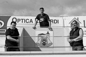 En la imagen, Sergio Porres Sainz, Alberto Sádaba Elvira y José Andrés Fernández.