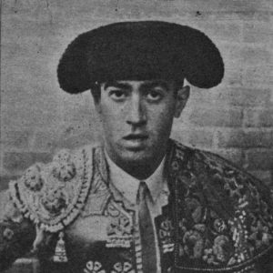 Primer plano de Manolo Navarro.