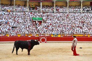 ¿Alguien se imagina la plaza de Pamplona durante San Fermín con 800 personas, cuando cada día, entre la mañana y la tarde, acoge a 40.000 personas?