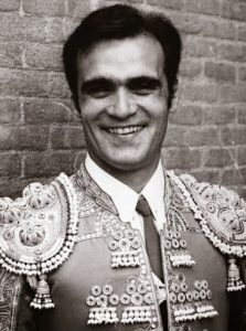 José Manuel Inchausti 'Tinín' vestido de luces.