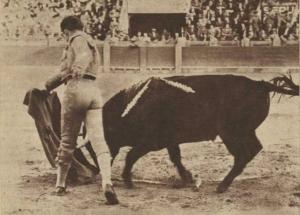 Manuel Bravo 'Relámpago' en la plaza de Zaragoza. Fotografía: El Ruedo, publicada por Aplausos.es