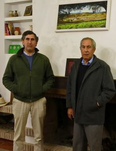 Francisco Domínguez Camacho junto a su hijo. Fotografía: Diario de Savilla.