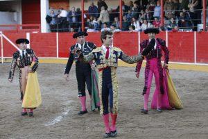 Junto con El Cid, el diestro navarro Javier Marín es el último triunfador en Fitero; ambos salieron a hombros en 2019. Fotografía: José Luis Espuelas.